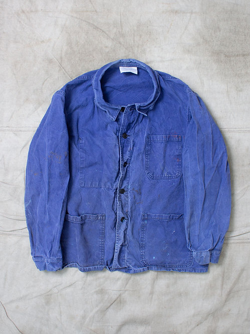 Vtg French Workwear Jacket (M)