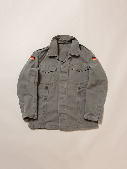 Vtg German Army Cotton Field Jacket (M)