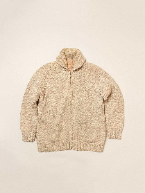 Vtg Chunky Wool Knit Sweater (L)