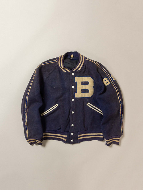 Vintage Wool Butwin Varsity Jacket (M)