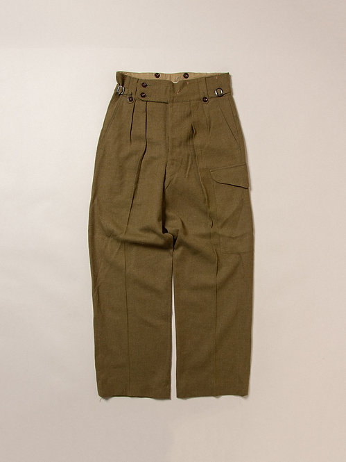 Vtg 1950s Australian Army Trousers (31x31)
