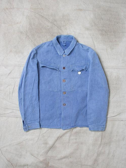Vtg Swiss Prison Jacket (S)