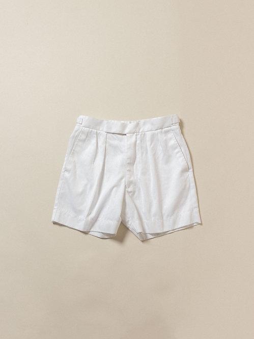 Vtg British Army Pleat Shorts