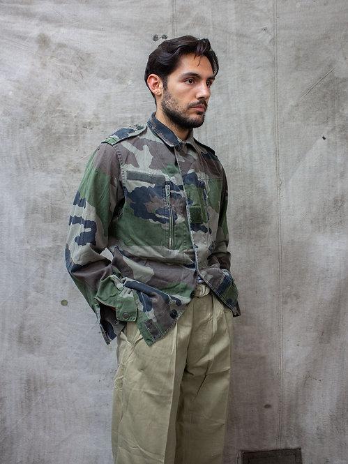 Vtg French Army Camo Jacket