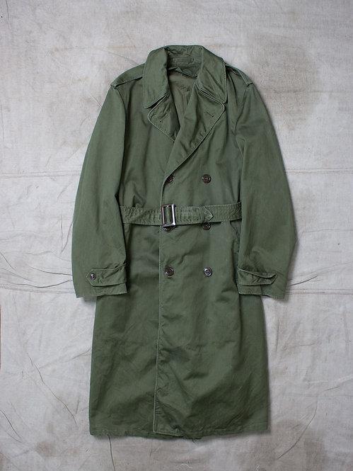 Vtg US Army 1950s Overcoat (S-Long)