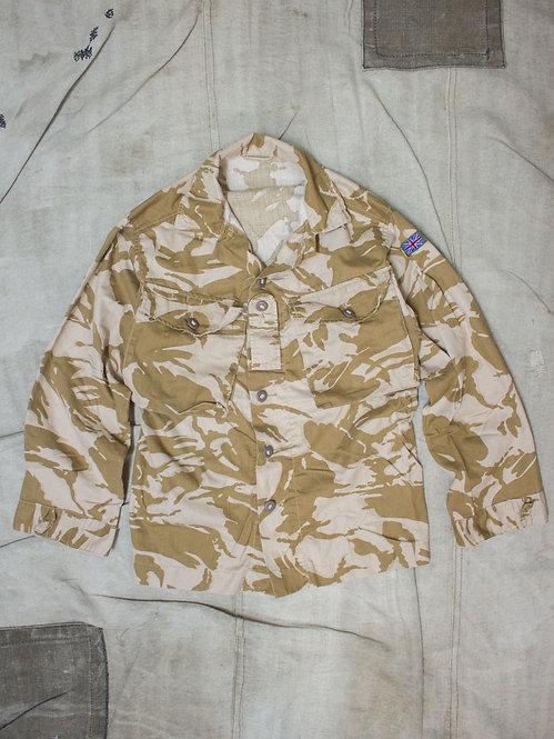 1990s vintage british army dpm desert camo shirt