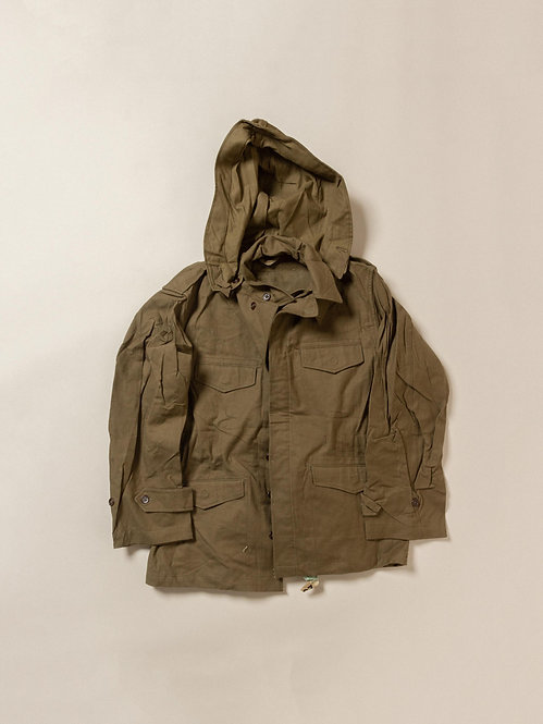 Vtg Deadstock 1960s French Army M-47 Field Jacket (M)