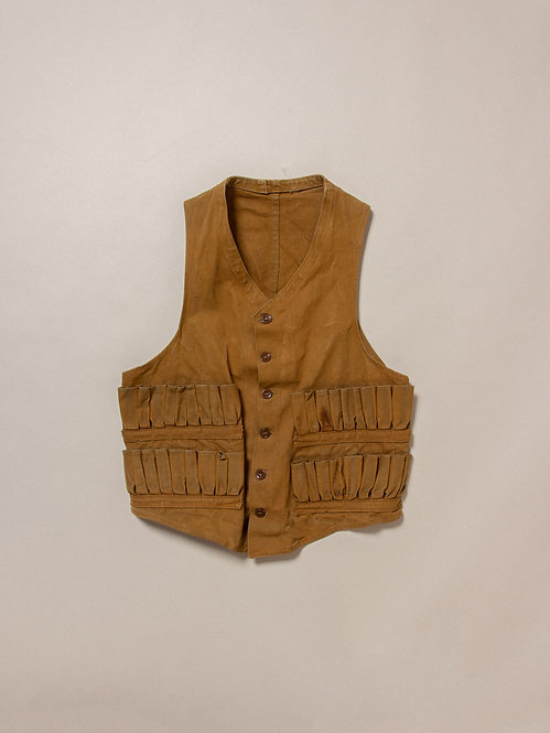 1930's French Hunting Vest (Small)