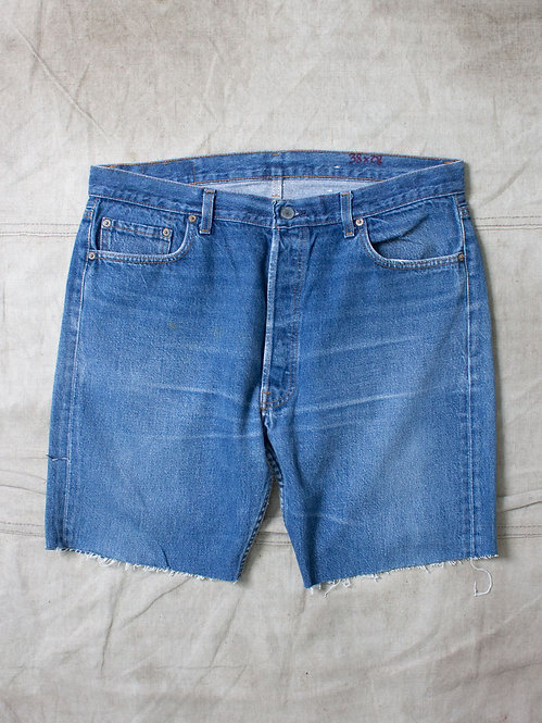 Vtg Made in USA Levis 501 Cut Off (38x8,5)