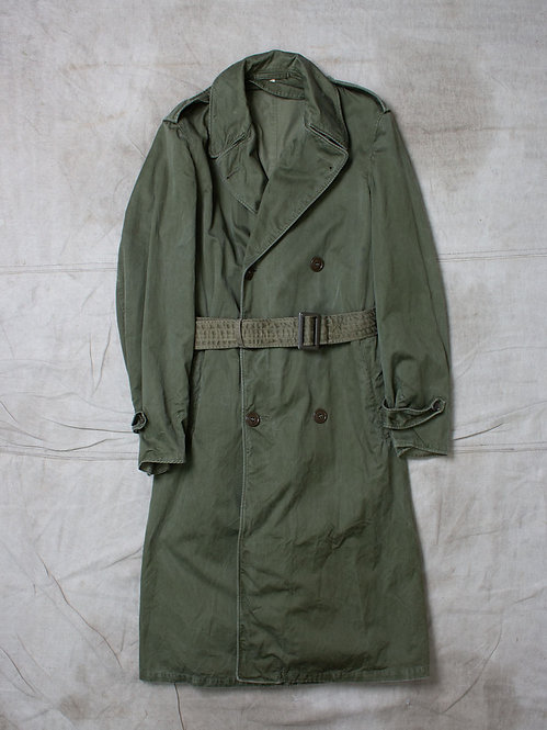 Vintage US Army 1950s Overcoat (S-Long)