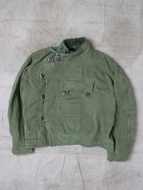 Vintage 1960s Swedish Army Dispatch Jacket (L)