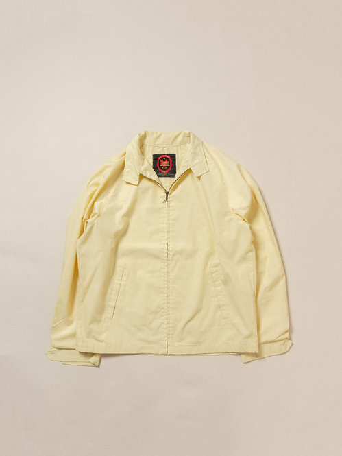 Vtg Yellow Campus Windbreaker - Made in USA (L)