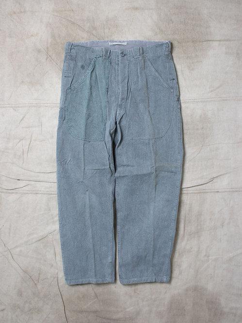 Vtg 1970 Swiss Army Denim Pants (36x30)