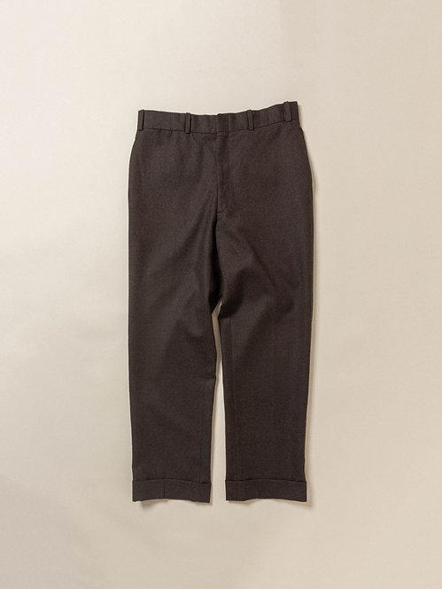 Vtg Dark Brown Wool Dress Pants (32x29)