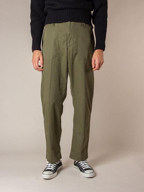 Vtg British Army OG Lightweight Fatigue Pants