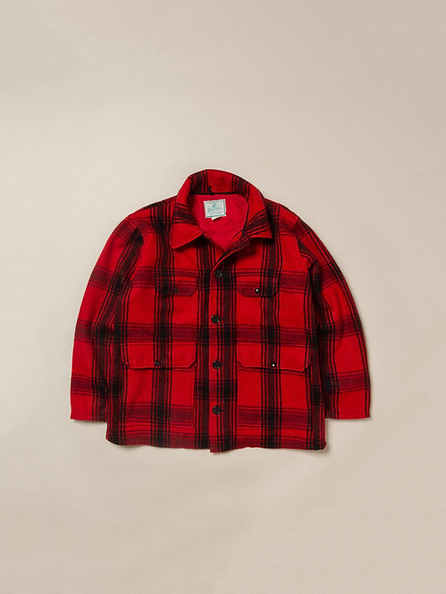 Vtg Johnson Buffalo Plaid Jacket (M)