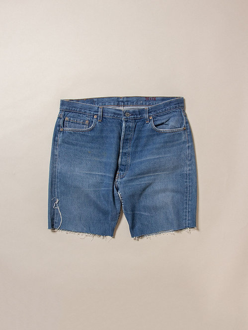 """Vtg Made in USA Levis 501 Cut Off (38"""")"""