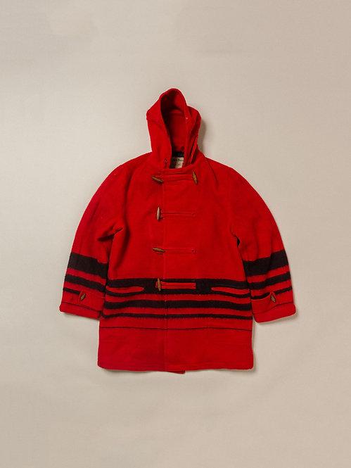 Vtg Buck Skein Wool Duffel Coat (M)