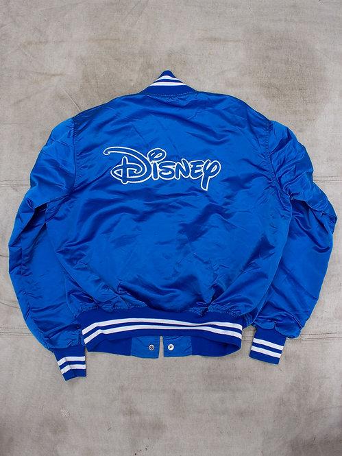 Vtg Disney Royal Blue Nylon Jacket (L)