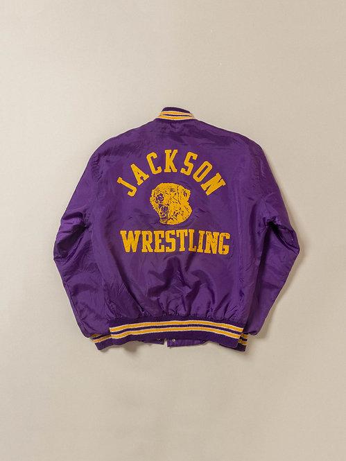 Vtg Jackson Wrestling Nylon Jacket (S/M)