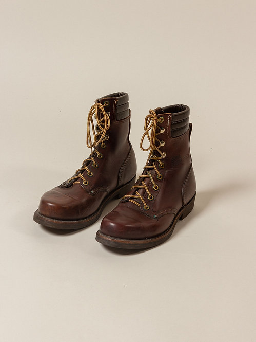 "Vtg Carolina ""Horshide"" Boots (7.5)"