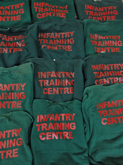 British Army Infantry Training Center Sports Sweatshirts