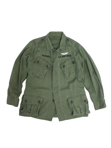 fea6daf396 1960s Identified USAF 1st Pattern Jungle Jacket ...