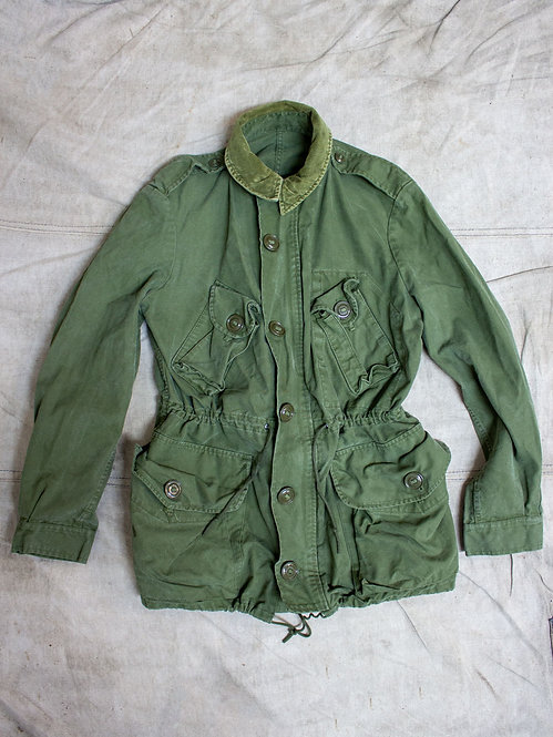 Vtg Canadian Army Combat Field Jacket (S)