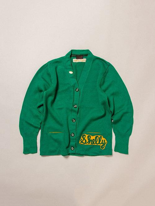 Vintage Letterman Knit Cardigan (S)
