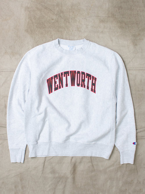 Vintage Champion Reverse Weave Wentworth Sweater (L)