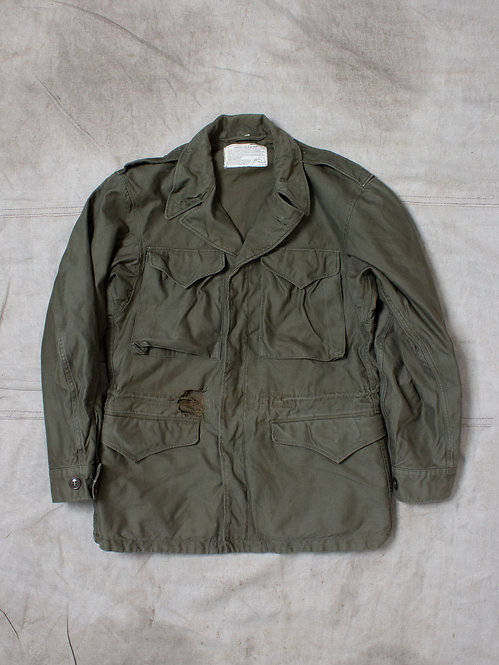 Vtg WWII US Army M-43 Field Jacket (S/M)