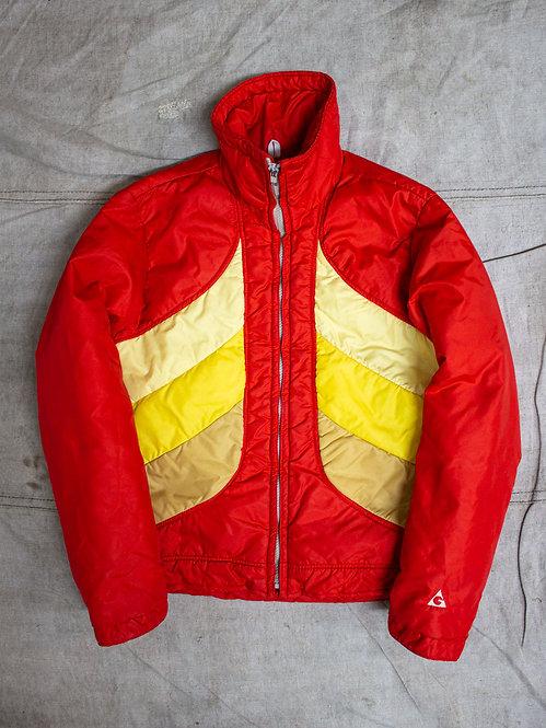 Vtg 1970s-1980s Womens GERRY Down Ski Jacket (S/M)