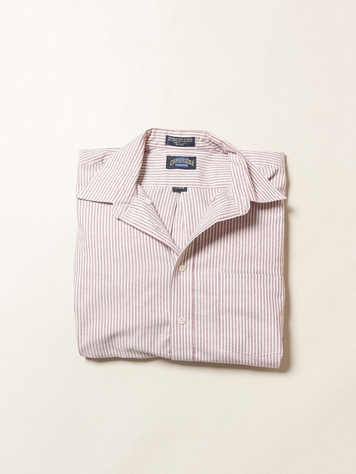 Vtg Cambridge Striped Oxford BD Shirt (XL)