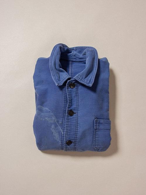 Vtg French Moleskin Workwear Jacket (S)