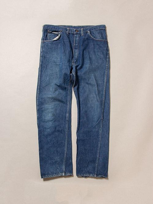 Vtg Rare 1940s-1950s Dickies Denim Jeans (38x32)