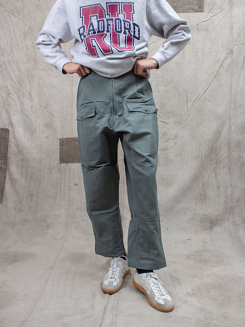 Deadstock Italian Air Force Summer Linen Flight Pants