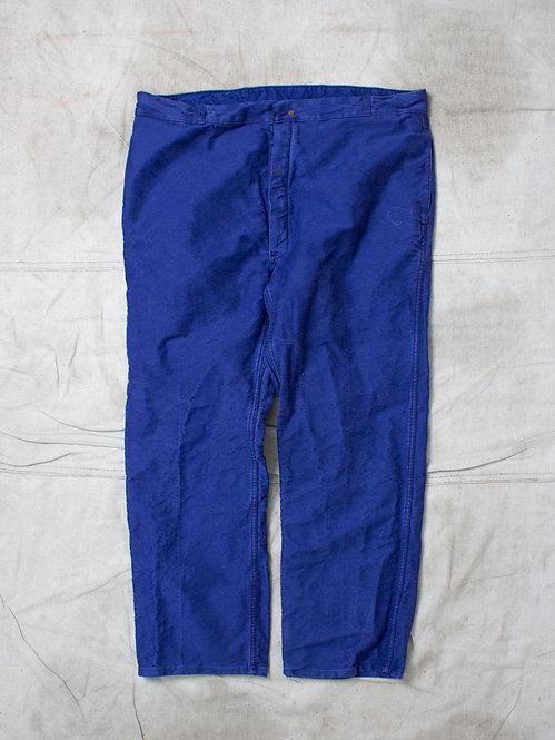 Vtg French Moleskin Trousers (40x29)