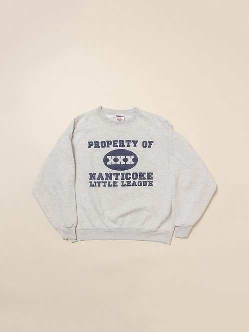 Vtg Nanticoke Litte League Sweatshirt (M)