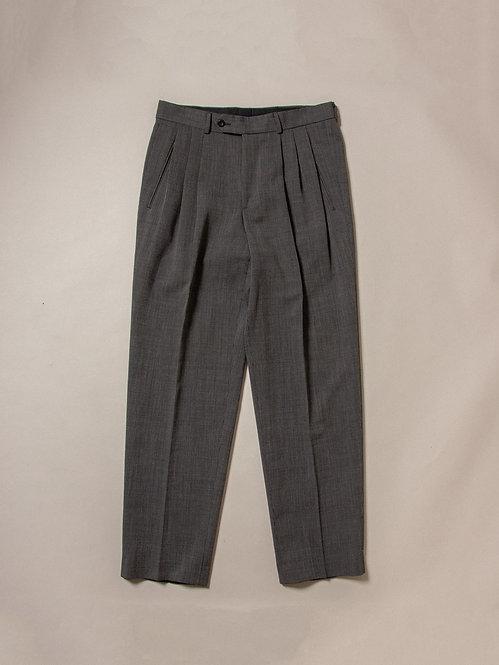 Vtg Grey Wool Dress Pants (32x32)