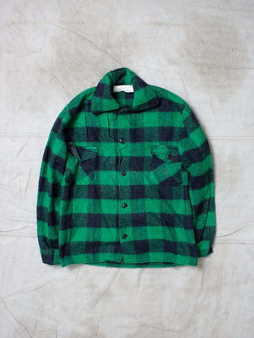 Vintage Plaid Jacket (S/M)