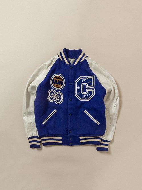 Vtg Embroidered 1993 Athletic Jacket (M)