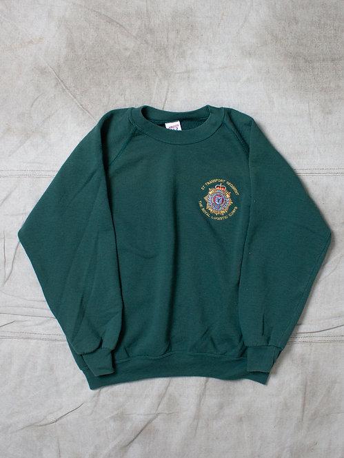 Vtg British Army 27 Regiment RLC Sweatshirt (L)