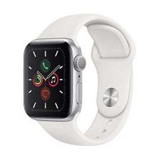 Montre Intelligente Apple Watch Serie 5 (GPS) 40mm Blanc MWV62VC/A