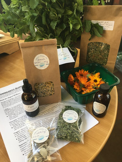 August herb share