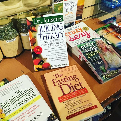 Our natural medicine library