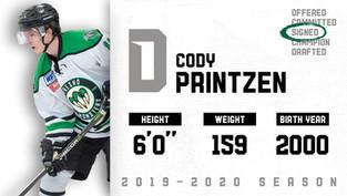 Cody Printzen will be returning for the upcoming season