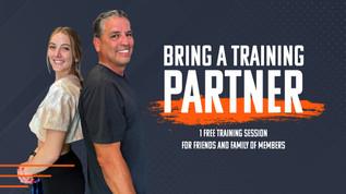 Bring A Training Partner