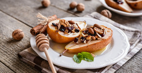 Baked Pears with Honey