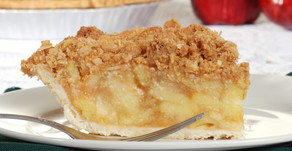 Royal Apple Crumble Pie