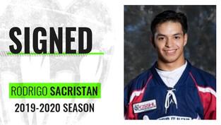 Monsters sign new goalie Rodrigo Sacristan from Spain